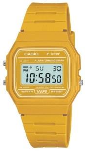 Casio F91W Jaune