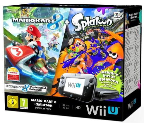 Pack Wii U Splatoon Mario Kart 8