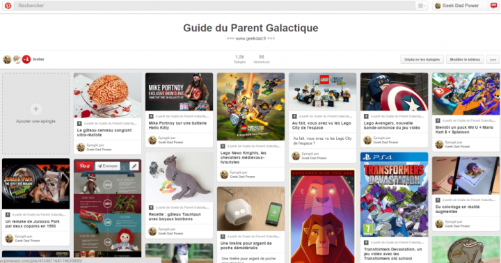 Pinterest Guide Parent Galactique