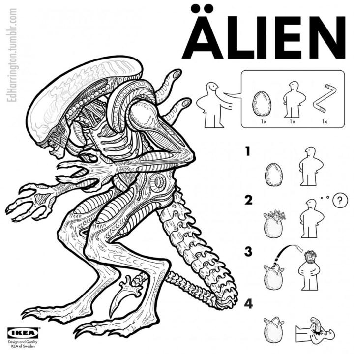 Ikea - Alien