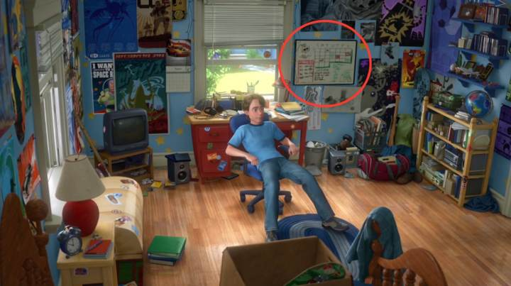 Chambre Andy Toy Story 3 (2)