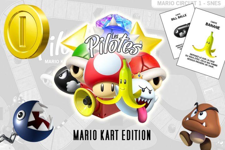 Les Pilotes - Mario Kart Edition