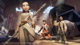 Star Wars - Le Reveil de la Force - Disney Infinity 3.0 - Screenshot #1