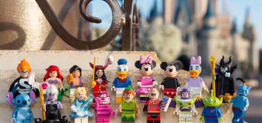 Lego Figurines Disney
