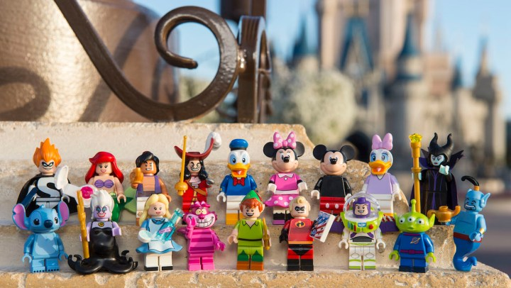Lego Figurines Disney