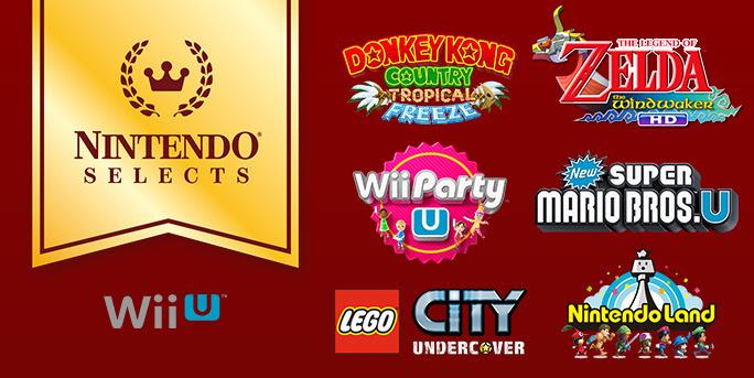 Wii U Nintendo Select
