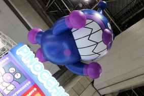 Ballon géant du méchant dans AnPanMan