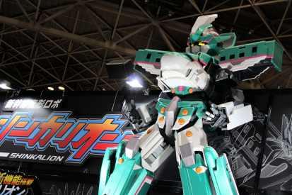 Shinkanlion, le Shinkansen-robot géant
