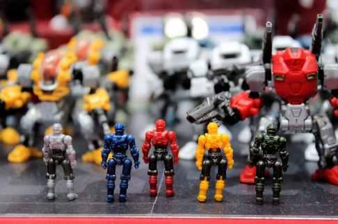 Robots en platoc