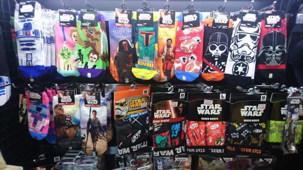 Indispensables chaussettes et slips Star Wars
