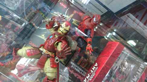 Ironman et Spiderman, version samouraï
