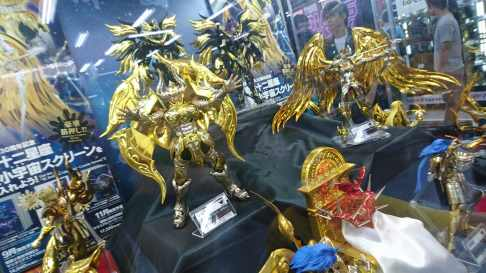 Les Chevaliers du Zodiaque par Tamashii Nations