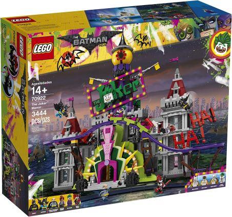 Lego Montagne Russe Manoir Joker