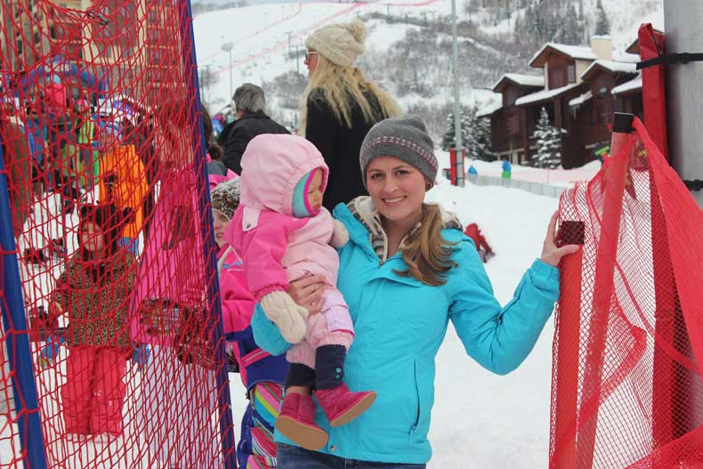 Parenthood and Passports - Base area in Steamboat