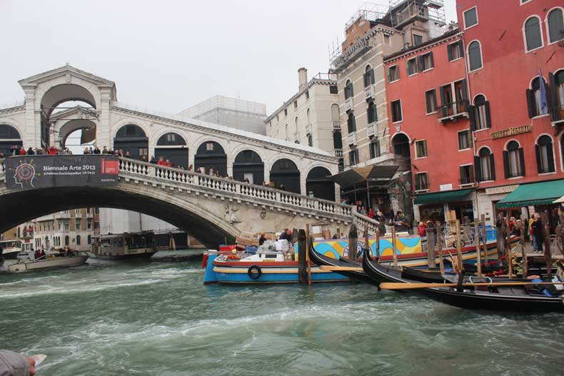 Parenthood and Passports - Rialto Bridge Venice, Italy