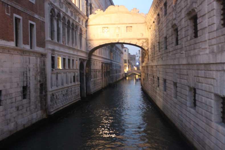 Parenthood and Passports - Bridge of Sighs Venice, Italy