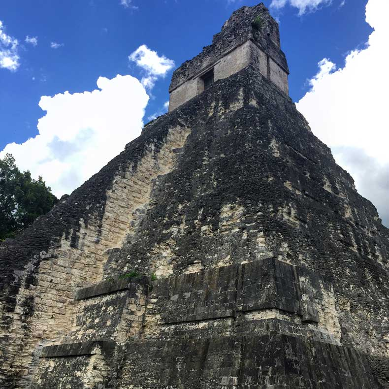 Parenthood and Passports - Mayan Ruins