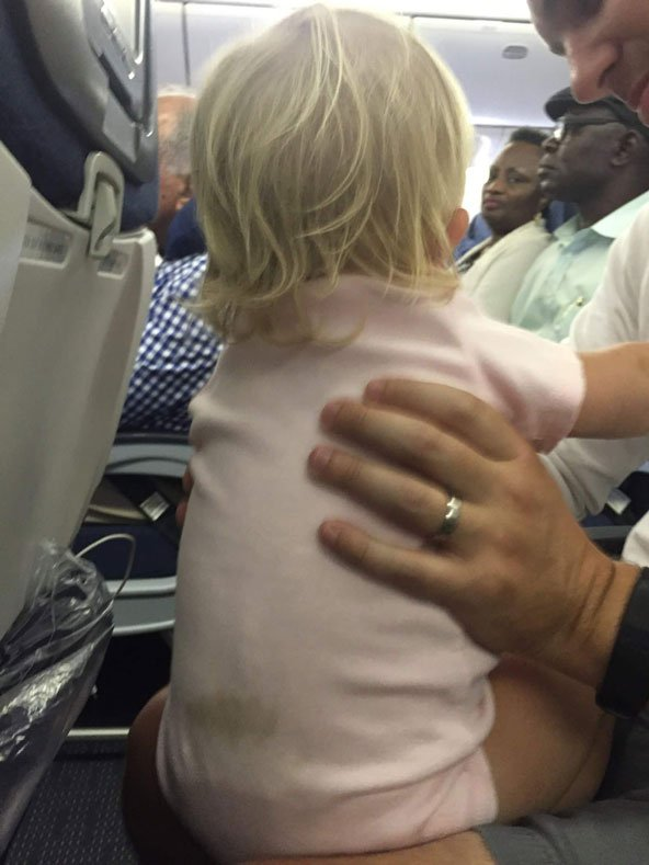 Parenthood and Passports - Long flight with a toddler