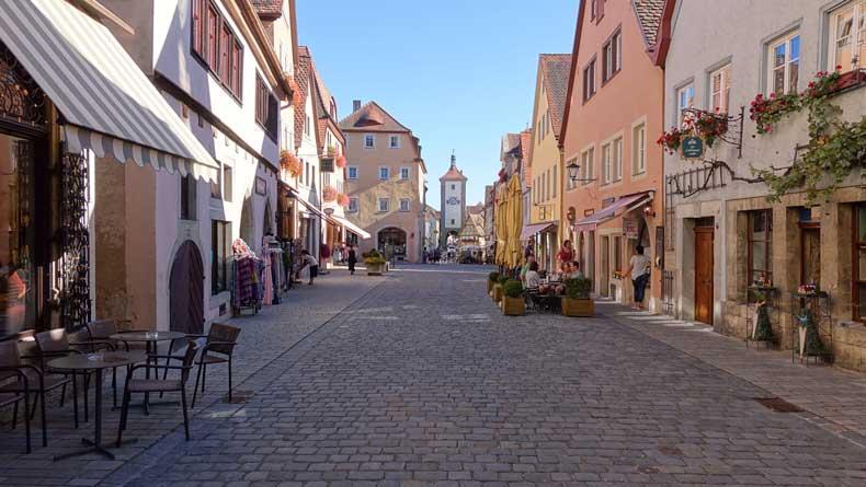 Parenthood and Passports - Rothenburg ob der tauber