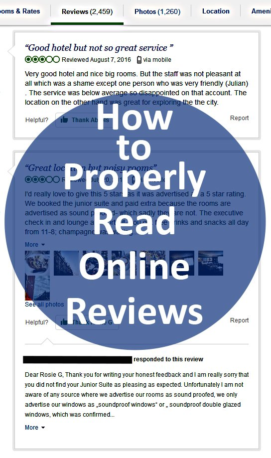 how to read online reviews