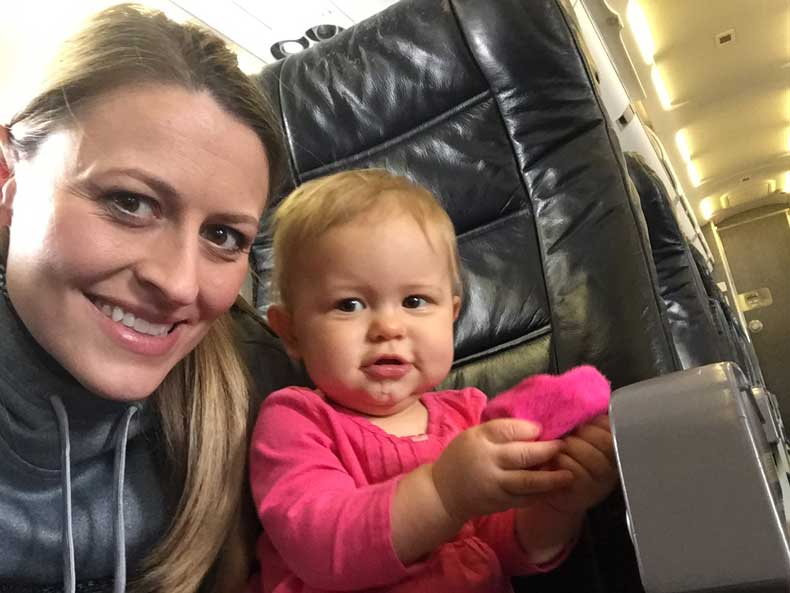 Parenthood and passports - Flying alone with an infant