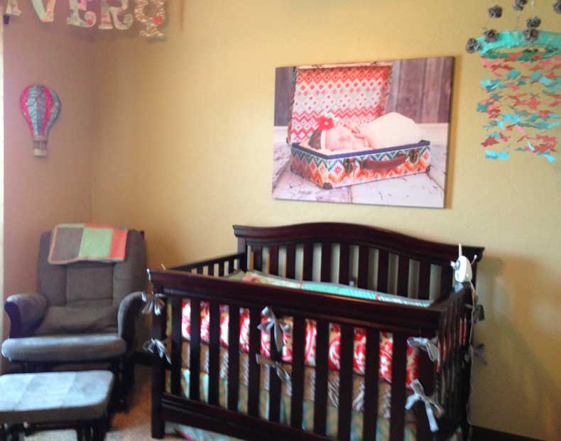 Parenthood and Passports - Travel-themed nursery