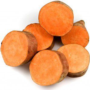 Sweet potato 1 298x300 Sweet potato, corn, and cheese muffins