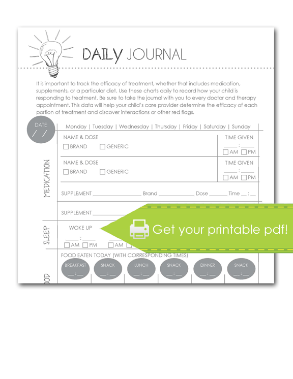 Daily Journal Form