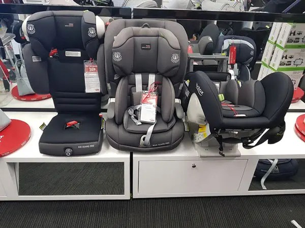 How To Fit Three Car Seats Across Your Back Seat