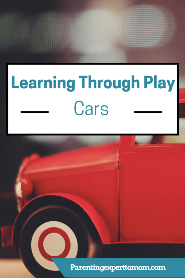 Learning Through Play-Cars