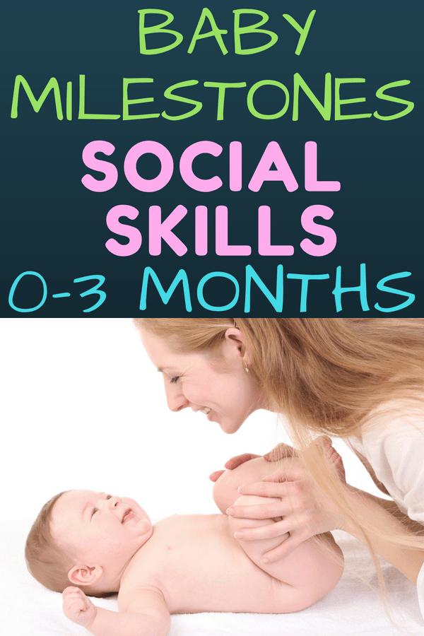 Baby Social Development Birth To Three Months