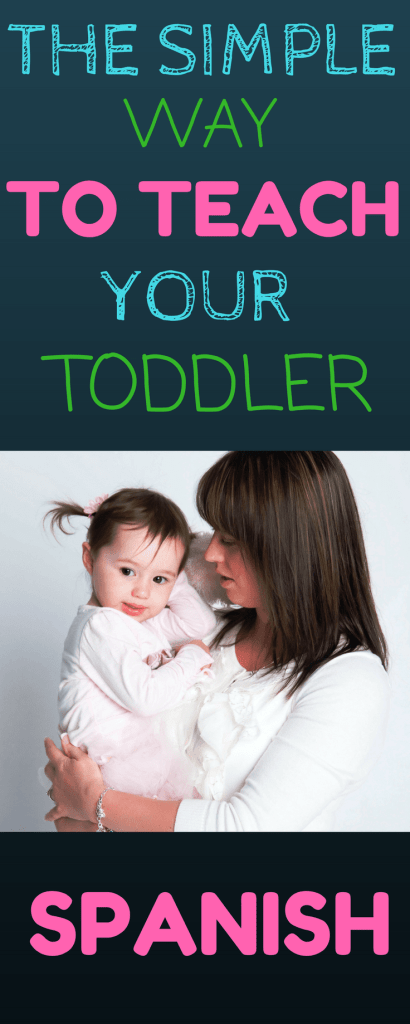 How to teach your toddler Spanish
