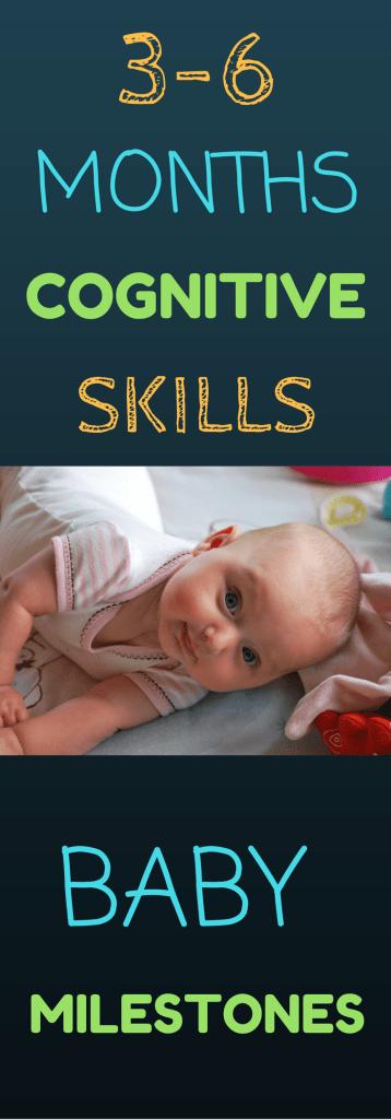3-6 Months Cognitive Skills