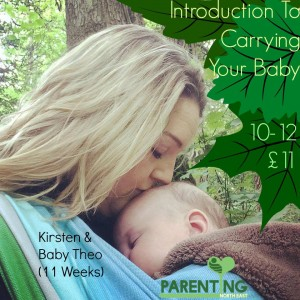 Introduction to carrying your baby