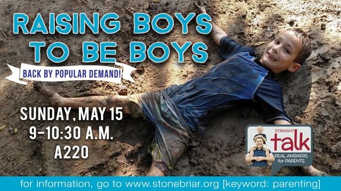 Raising Boys to be Boys