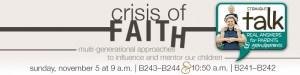 Crisis of Faith Straight Talk Stonebriar Community Church in Frisco, Texas