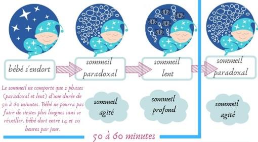 Phases du sommeil de 0 à 3 mois