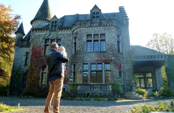 dinant, belgique, voyage et enfant, voyager avec bébé, château, ardennes belges