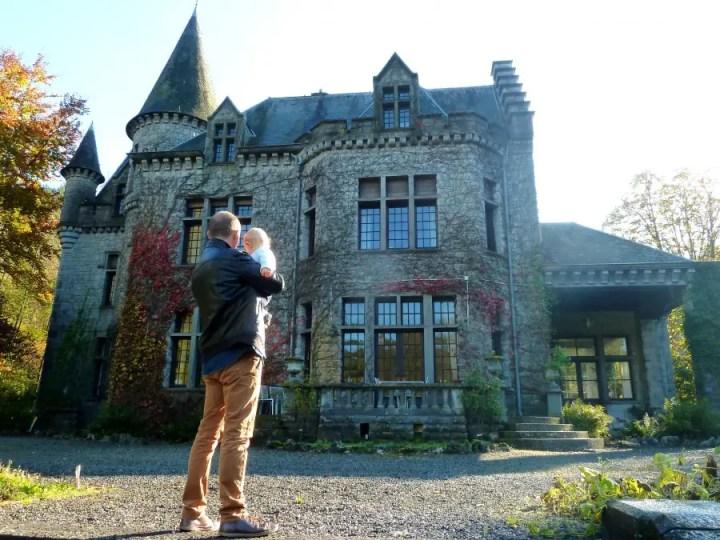 chateau de la saisonneraie-Week-end Dinant- Belgique