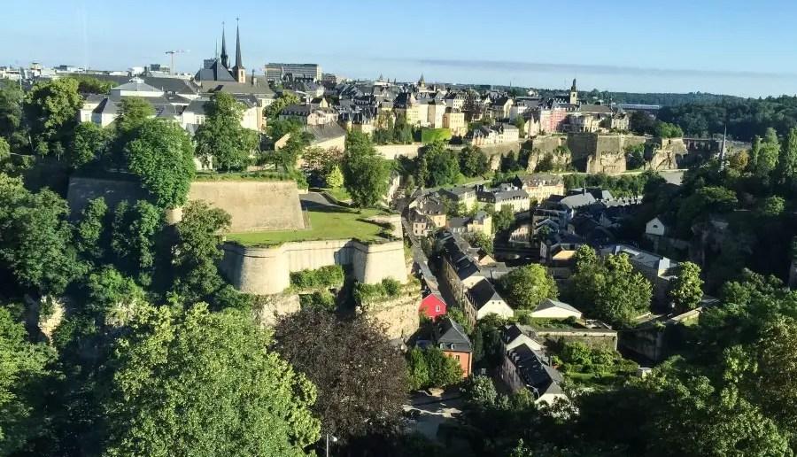Une jolie décou-VERTE : le Luxembourg