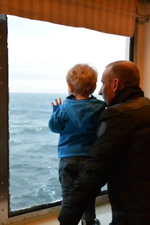aller en Ecosse en bateau depuis la belgique