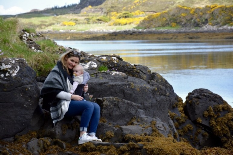 visiter l'Ecosse avec un bébé