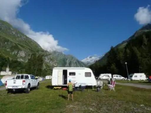 la Savoie en été Camping le Canada