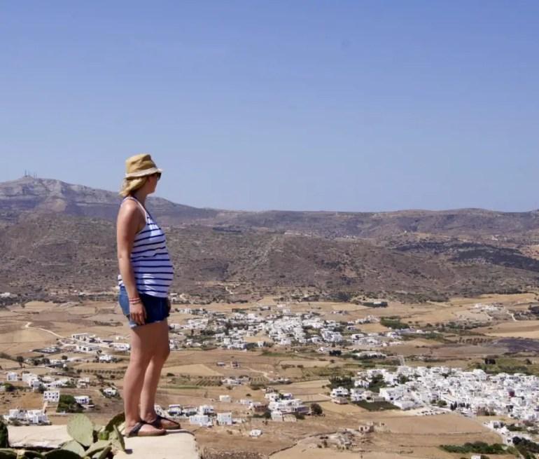 Road trip en grèce les cyclades Naoussa Ile de Paros