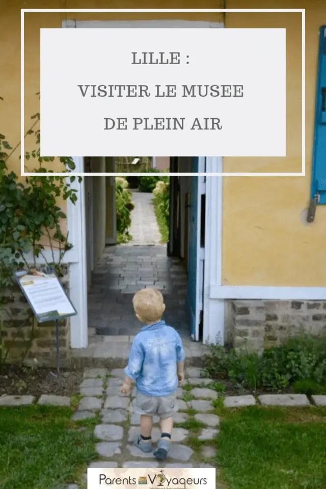 LILLE :  VISITER LE MUSEE  DE PLEIN AIR