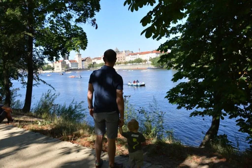 Prague avec bébé