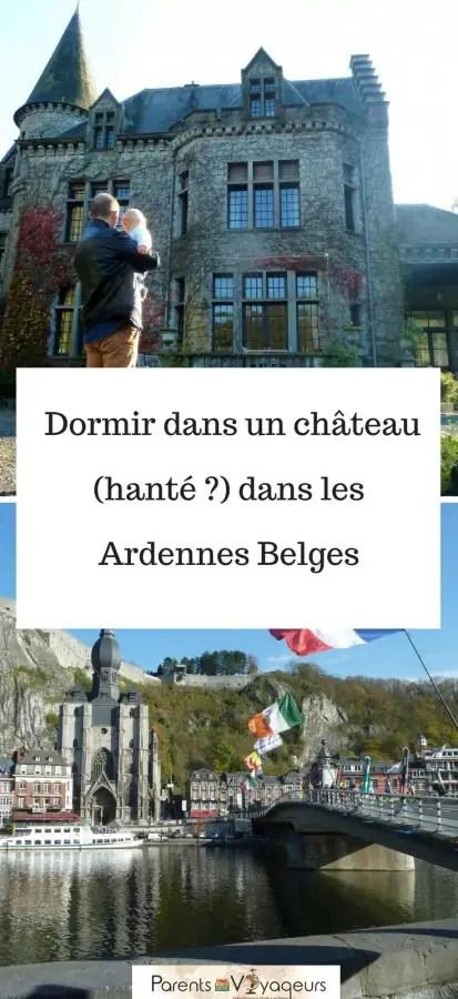 Dormir dans un château hanté ardennes belges