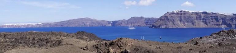 Les cyclades, visiter l'île de Santorin