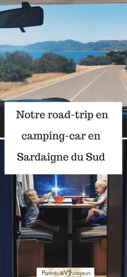 road-trip en Sardaigne en camping-car