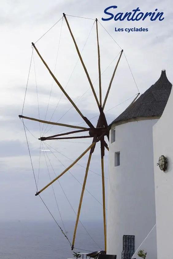 visiter l'île de Santorin